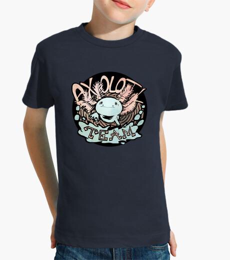 Ropa infantil camiseta del equipo 2 de axolotl