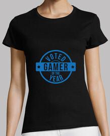 camiseta del juego de la mujer