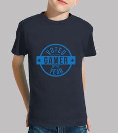 camiseta del juego del niño