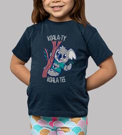 camiseta del koala del koala-ty - camisa de los niños