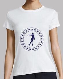 camiseta del patinaje de hielo - patinaje