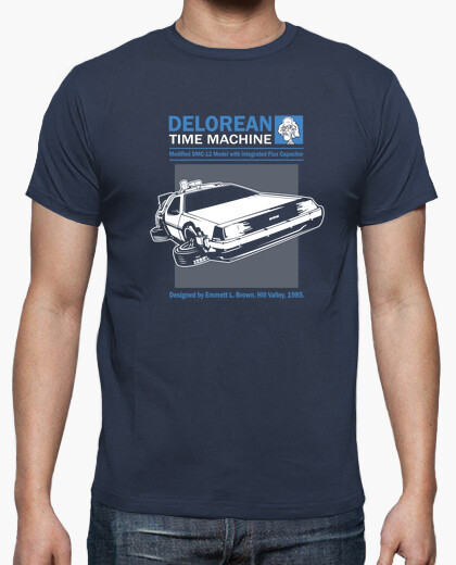 Camiseta Delorean - Regreso al Futuro