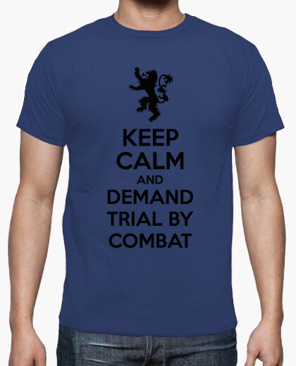 Camiseta Demand trial by combat - Tyrion