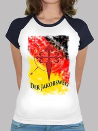 Camiseta Der Jakobsweg Alemania