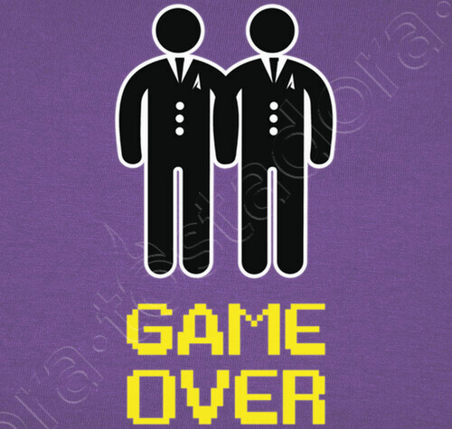 111f6aa602 Personalized name bachelor party, game over gay read description ** ** t-