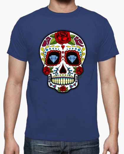 Camiseta Diamonds Mexican Skull !!!