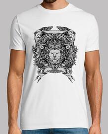 Camiseta Dibujo Escudo de León