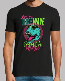Camiseta Dinosaurio T-Rex Estilo 80s 90s Retro Idea Regalo