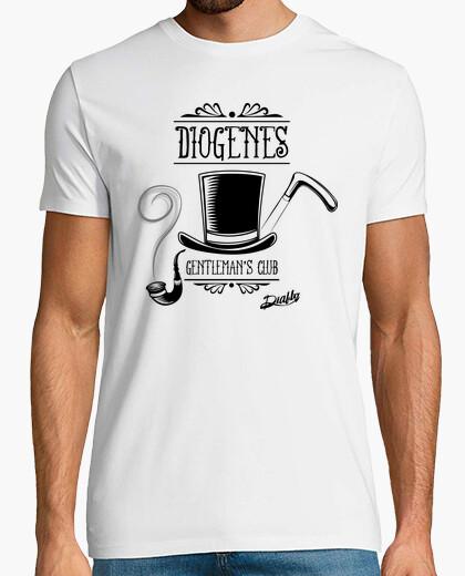 Camiseta DIOGENES, HOMBRE BLANCA