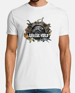 Camiseta Diseño Dinosaurs Hombre