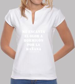 Camiseta diseño para arquitectas - Hormigón - Cosas de Arquitectos