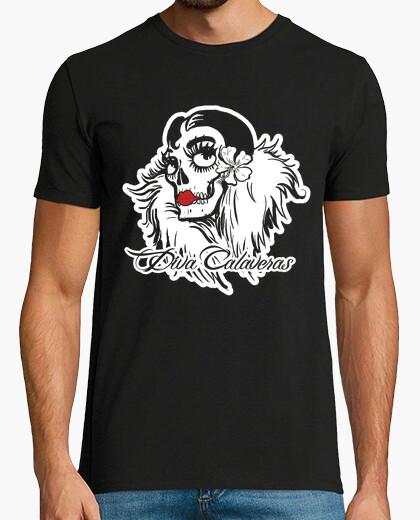 Camiseta Diva Calaveras