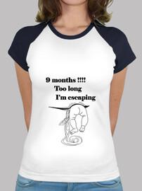 camiseta divertida fc embarazo