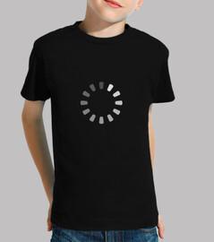 camiseta divertida geek buffering