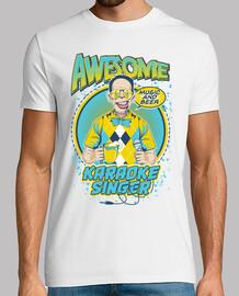 Camiseta Divertida Retro Cantante Karaoke Vintage Party
