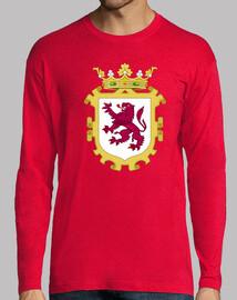Camiseta Doble Mangas Escudo del Reino de León