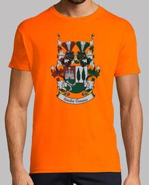 Camiseta doble mangas Escudo Familia Sanchez-Campins