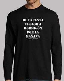 Camiseta doble para arquitectos - Hormigón - Cosas de Arquitectos