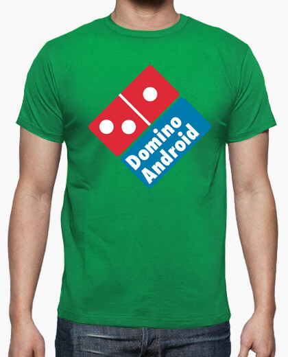 Camiseta Domino android