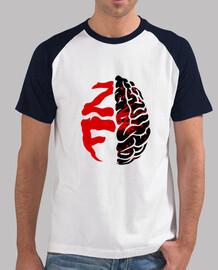 Camiseta dos colores hombre ZombieFreaks.es