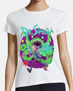 Camiseta Dr. Simón Mujer - Blanco