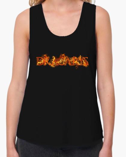 Camiseta Dracarys fuego