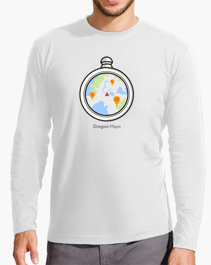 Camiseta Dragon Ball Radar Maps