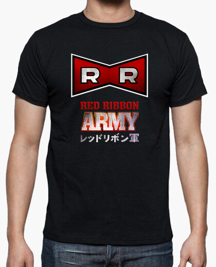 Camiseta Dragon Ball: Red Ribbon Army