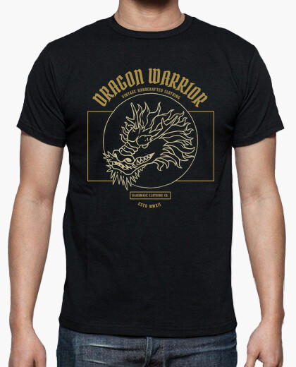 Camiseta Dragon Warrior - artmisetas.com - Camisetas Japon