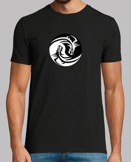 Camiseta dragon ying yang
