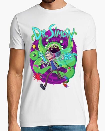 Camiseta Dr.Simón - Blanco