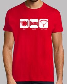Camiseta Eat, Sleep, Skydive mod.3