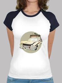 camiseta Ecto1crash chica