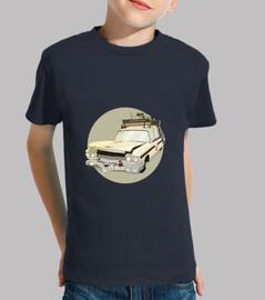 camiseta Ecto1crash niño