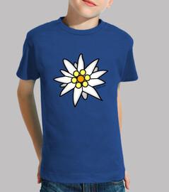 camiseta edelweiß (kind)