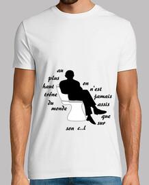 camiseta ego trone humor pequeño chef hombre