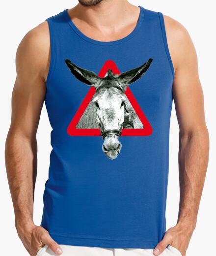 Camiseta el Burro es burro por terco (en pecho)