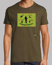Camiseta El mejor es mi papá 2