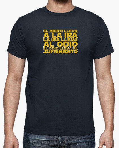 Camiseta El miedo lleva a la ira  - Star...