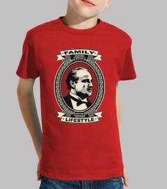Camiseta El padrino niño
