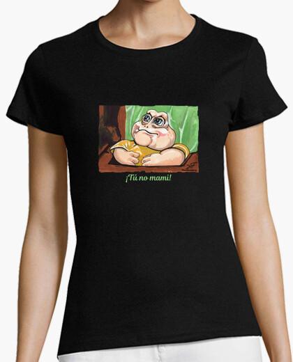 Camiseta El Peque de Dinosaurios Tú no mami