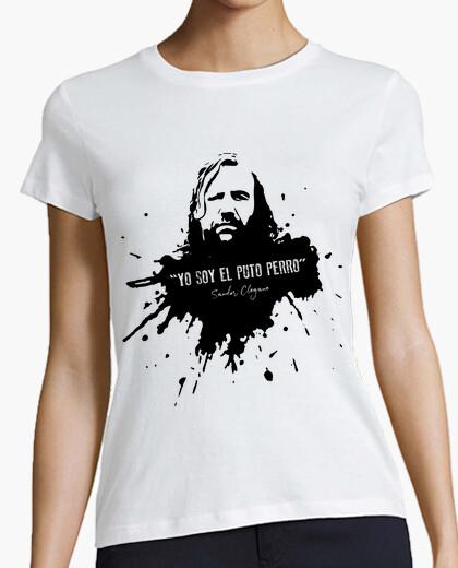 Camiseta El Puto Perro - Sandor Clegane (mujer)