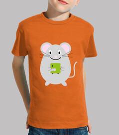 Camiseta El ratoncito juguetón