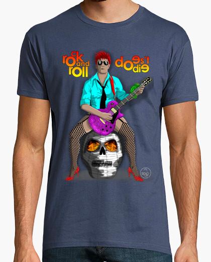 Camiseta EL ROCK and ROLL NO MUERE