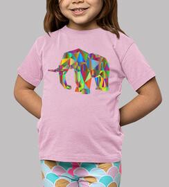 Camiseta Elefante color