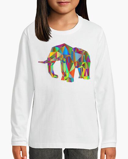 Ropa infantil Camiseta Elefante color M/L