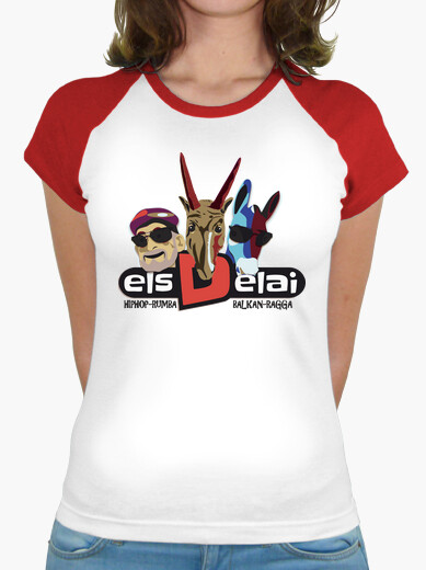 Camiseta ELS DELAI - samarreta dona,...