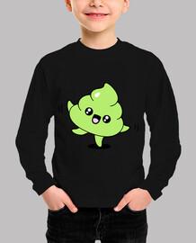 camiseta emoji caca enfant