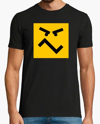 Camiseta Emoji mosqueado