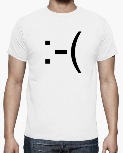 Camiseta Emoticón :-(